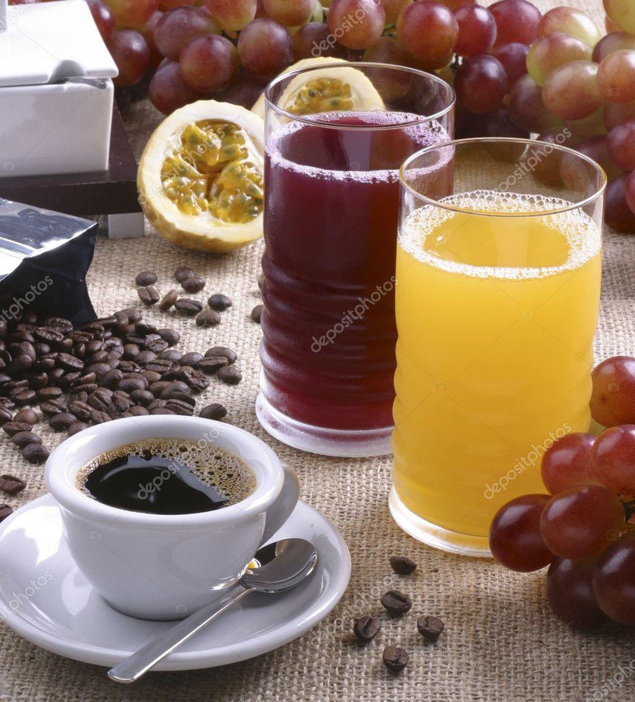 Кофе чай сок
