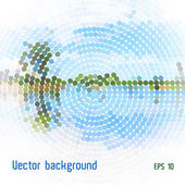 Vector landscape background — Stockfoto
