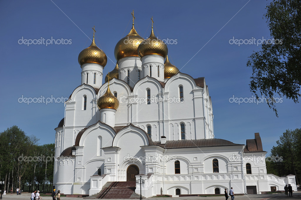 Yaroslavl,Golden Ring of Russia — Stock Photo #9710579