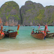 Stock Photo: Maya bay of Phi-phi island