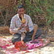 Snake Charmer, Goa, India — Stock Photo #9971585