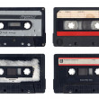 Vintage Compact Cassettes — Stock Photo #9624485