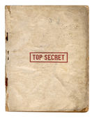 Top Secret Files — Stock Photo