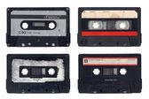 Vintage Compact Cassettes — Stock Photo