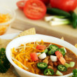 Delicious Bowl of Spicy Jalapeno Chili — Stok Fotoğraf #9610525