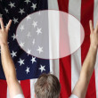 Peace American Style — Stock Photo