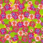 Sammer floral background — Stock Vector