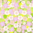 Delicate floral background — Stock Vector