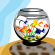 Stock Vector: Aquarium