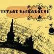 Vintage old style background — Stock Vector