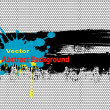 Abstract vector background — Imagen vectorial