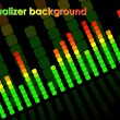 Equalizer background — Vektorgrafik