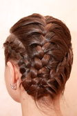 Pigtails — Stock Photo