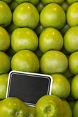 EDZR - Green Apple Board — Stock Photo