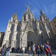 Cathedral of Santa Eulalia in Barcelona's Barri Gotic district, — Stock Photo #10542936