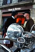 Motor Bike, motorcycle — Stock Photo