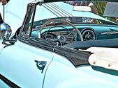 Pontiac blue, portugal — Stock Photo