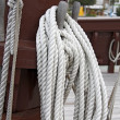 Rope caravel — Stock Photo
