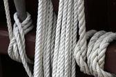 Rope caravel — Stock Photo