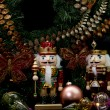 Christmas Wooden Nutcrackers - Foto Stock