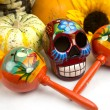 Dia De Los Muertos - Day of The Dead Alter - Stock Photo