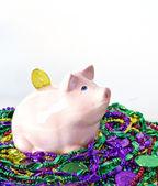Mardi Gras Pig — Stock Photo