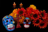 Dia De Los Muertos (Day of the Dead) Alter — Stock Photo