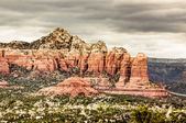 Red Rock Mountains Sedona, Arizona — Zdjęcie stockowe