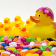 Easter Duck — Stock Photo