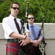 Stock Photo: Relaxed Pipers