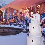 Happy Snowmen — Stock Photo #9615337