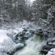 Winter Waterfalls — Stock Photo