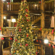 Stock Photo: Lodge Xmas Tree