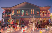 Chritmas house — Stock Photo