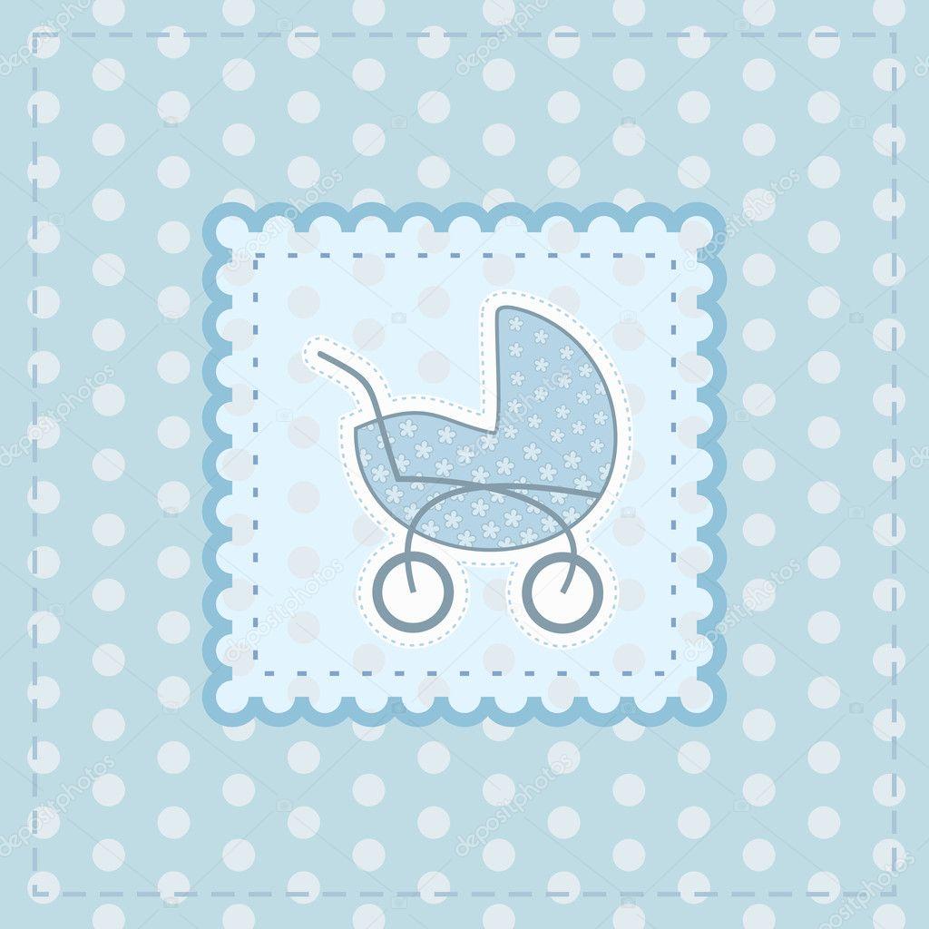 Baby Boy Greetings Card