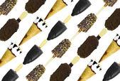 Ice Creams Background — Stock Photo