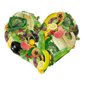 Vegetarian Valentine — Stock Photo