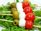 Italian Kebabs — Stock Photo