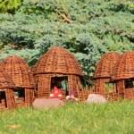 Wickerwork - a village of elves — Stock Photo #10448641