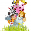 Royalty-Free Stock Imagen vectorial: Animal cartoon