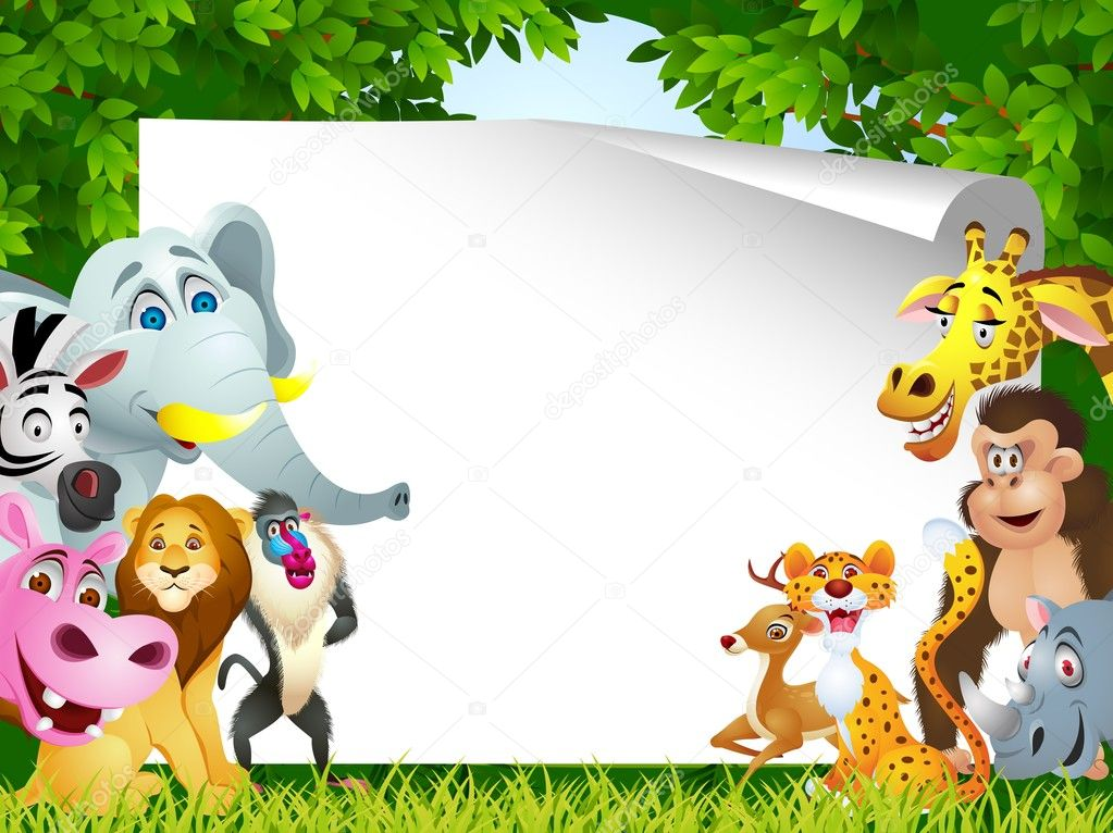 Vector Illustration Of  Animal Cartoon — Stockvectorbeeld #10248788