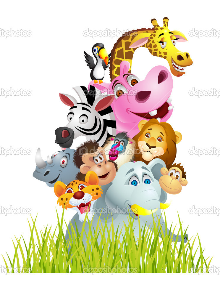 Vector Illustration Of Animal cartoon — Stock Vector #10248792
