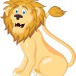 Royalty-Free Stock Vector Image: Vector illustration of lion cartoon