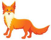 Red Fox Cartoon — Stock Vector