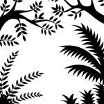 Tree Silhouette — Stock Vector