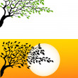 Royalty-Free Stock Vector Image: Tree Silhouette