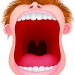Open mouth — Stock Vector #10352988