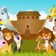 Stock Vector: Noah Ark