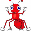 Ant cartoon - Stock Vector