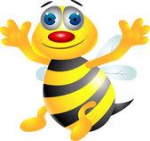 Bee cartoon — Stock Vector